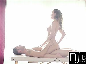 NF huge-titted - perfect breast Dillion Harper screwed