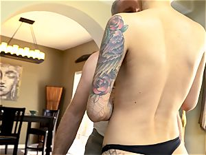 tatted Sn 5 Emma Mae boinks her randy stepfather
