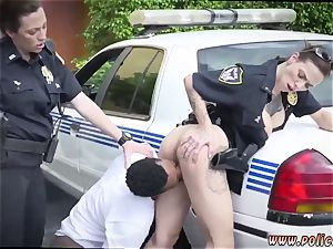 stunning blonde milf gets first time I will catch any perp with a hefty black meatpipe, and