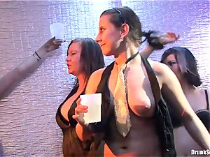 Bibi Fox, Tarra milky and Carla Cox horny and insane