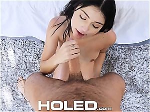 HOLED blessed bday ass-fuck pulverize with Adria Rae
