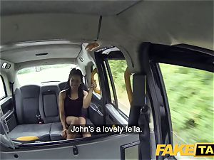 faux taxi prompt porking and internal cumshot for peachy donk