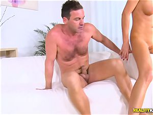 wedging into the bunghole of Tina Kay