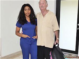 elder trouser snake youthfull booty Glenn finishes the job!