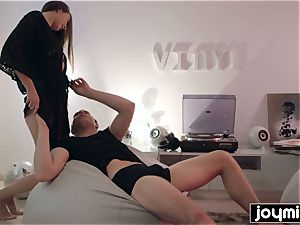 satisfy pulverize me now featuring babe Connie Carter