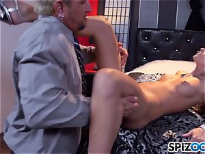 Jessa Rhodes saucy tight twat is poked by a large schlong
