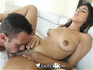 EXOTIC4K fettered up cascading lube drill with Latina
