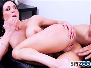 horny wife Kendra enthusiasm entices another man