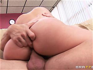 Randy doc Alexis Monroe pounded in the staff room