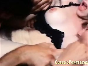 killer gal loves buttfuck lovemaking in this vintage porno