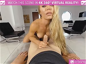 VR PORN-Nicole Aniston Gets nailed hard and gargles