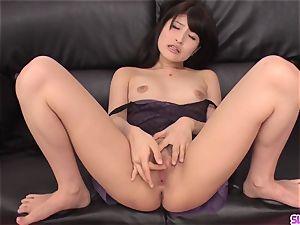 nasty gigs of muddy porno with slender Saki Kobashi