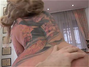 scorching ash-blonde Kayla Green rammed by Rocco Siffredi