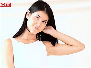 Czech teenage model gets photographed and boned
