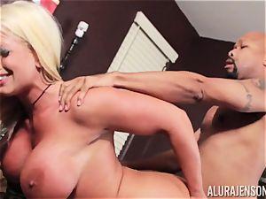 Alura Jenson slammered testicles deep and receives super-fucking-hot steaming internal cumshot