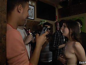 yankee slut tourist disgraces herself
