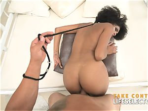 luxurious ebony prostitute is prepped fulfill your fantasies