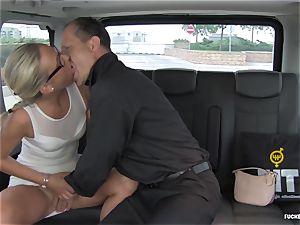 FuckedInTraffic - steamy car poke with horny Czech babe