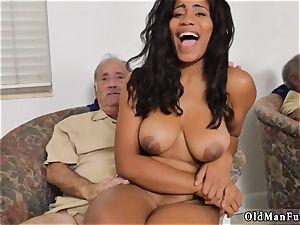 old and college doll creampie mom hard-core Glenn concludes the job!