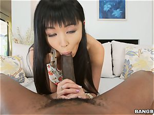 Marica Hase is startled of the humungous dark-hued fuck-stick