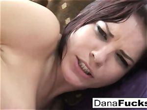 Dana deep throats trunk and gets screwed