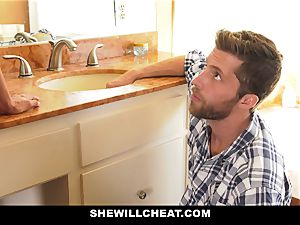 SheWillCheat - Mature wife Gets Her vag Piped