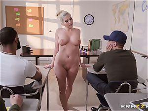 Christie Stevens bent over and boned doggy-style