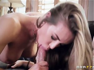impressive mischievous pornographic star Nicole Aniston came to my palace and humps my firm knob
