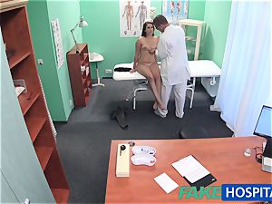 FakeHospital doctor examines uber-cute red-hot gorgeous patient