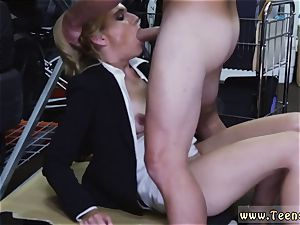 nubile plumbs her real parent red-hot cougar boinked At The PawnSHop