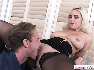 Kylie Page And Ryan wild Office