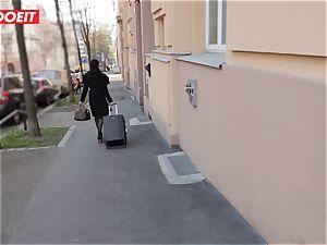 LETSDOEIT - Francys backside boinked hard-core by flat owner