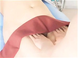 gf likes A ultra-cute pelvic massage to orgasm