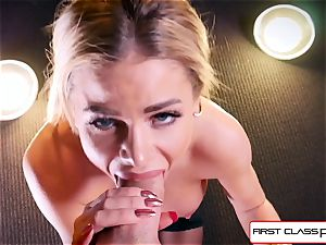 witness Jessa Rhodes taking a yam-sized fuck-stick down her gullet