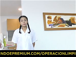 OPERACION LIMPIEZA - sapphic dominatrix foreplay with maid