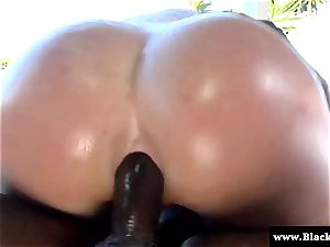 superstar Krissy Lynn rump plumbed stiff and she yells