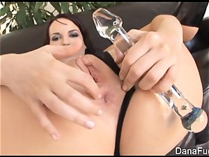 Dana gets her rump rammed with enormous ebony man-meat