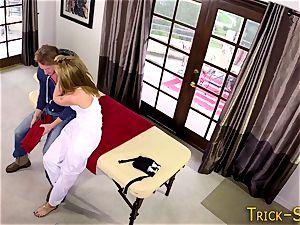manstick riding masseur stunner