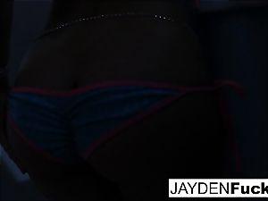 Jayden loves to have spectacular joy